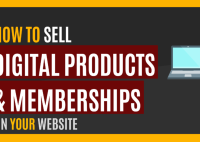 How to Sell Products, Lessons, Memberships Online